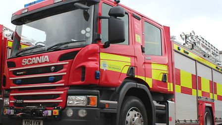 Firefighters were called to the factory in the early hours of this morning.