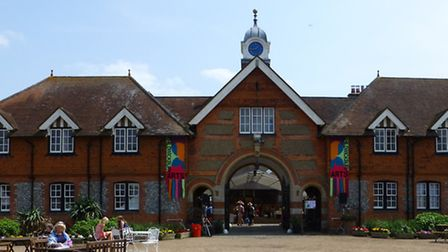 The Childwickbury Arts Fair 2014 is being held at the former home of famous film director Stanley Ku