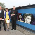 Managing Director of First Capital Connect David Statham, Mayor of St Albans Cllr Annie Brewster and
