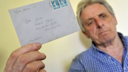Kimbolton resident, Owen Spice has had an unopened letter dating from 1921 in his possession for 40