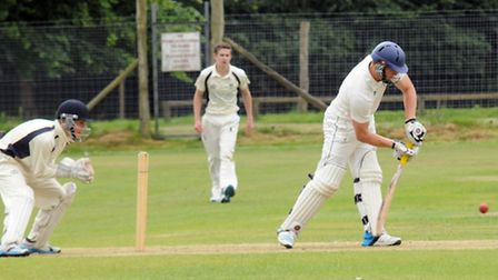 Mitchell Cooper bats for Reed