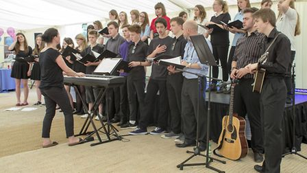 Royston Open Secrets: THe choir and band from The Meridian School