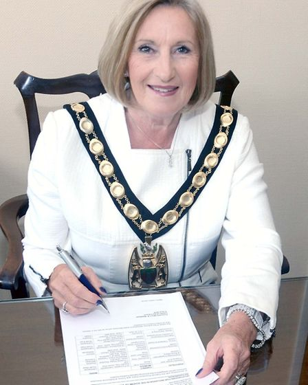 Cllr Tricia Cowley is the new chairman of the NHDC