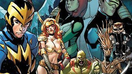 All-New X-Men/Guardians of the Galaxy: The Trial of Jean Grey