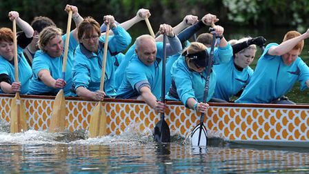 Cambridgeshire Royals are St Neots' new dragon boat team.