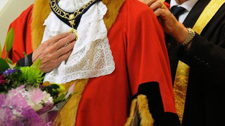 New St Ives Mayor Brian Luter.
