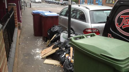 Solano barbers has had people leaving rubbish outside for 12 years