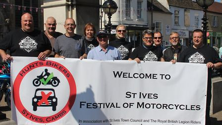 Organisers of the first St Ives Festival of Motorcycles