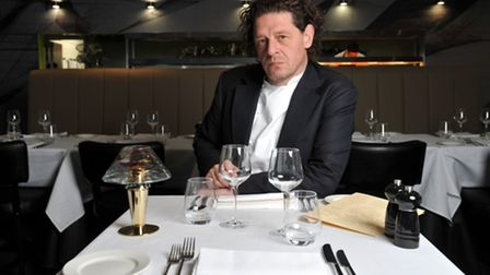 MARCO PIERRE WHITE - RESTAURANT STEAKHOUSE - CUBE - BIRMINGHAMPictured is Marco Pierre White at his