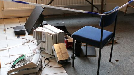 Cash registers which have been broken into