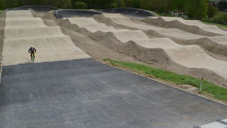 The Royston Rockets BMX Racing Club have had a new £100,000 track installed