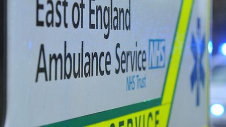 An ambulance was called to the collision