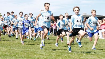 Royston runners help organise events like ROyston in Blue (Pic: David Hatton)