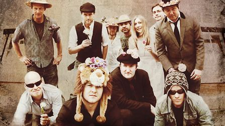 Bellowhead will be appearing at the Alban Arena in St Albans