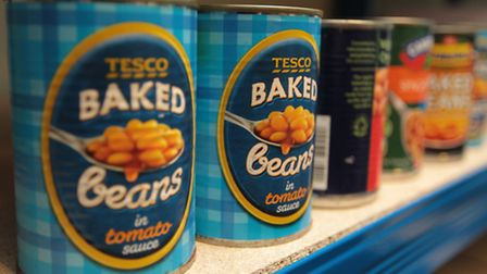 Royston Foodbank received more than one and a half tonnes of food in two days
