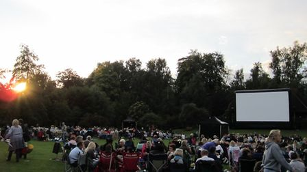 Highfield Park, St Albans, is to host its first open-air cinema