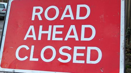 A lane on the A14 was closed for almost four hours after a lorry broke down near St Ives.