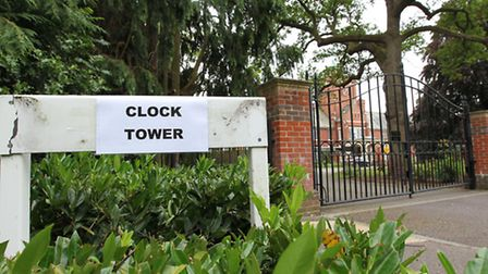 The Clock Tower in Napsbury Park