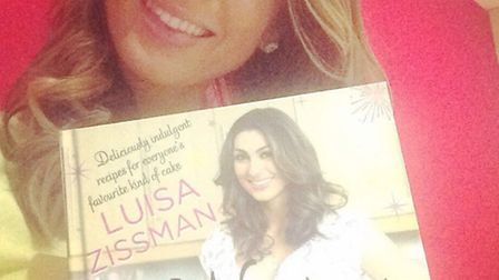 Luisa Zissman and her new book, Wicked Cupcakes!