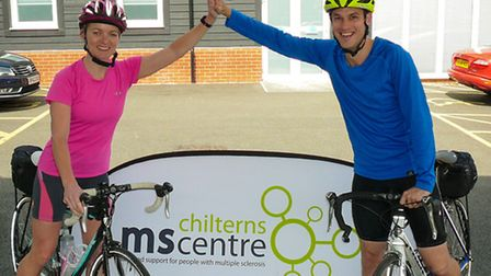 Colin and Fiona Cressy are cycling from John O'Groats to Land's End to raise money for the Chilterns