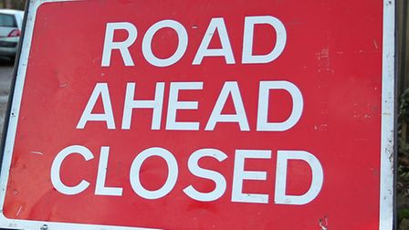 Part of the A505 near Royston was closed for around two hours this morning after a van broke down.