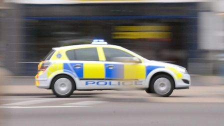 A woman has been escorted by police after riding a mobility scooter on A1 carriageway