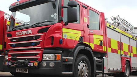 Firefighters were called to the High Street on Friday afternoon.