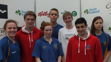 City of St Albans Swimmers at the Irish Age Group National Championships