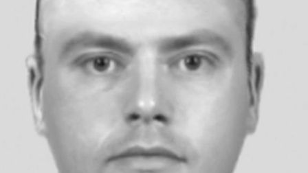 Police are on the hunt for a man who meets this description