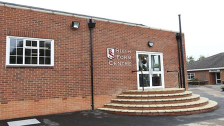 The new sixth form building at Beaumont School