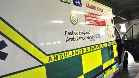 Emergency services called to the A505 between Baldock and Royston after a car came off the road.