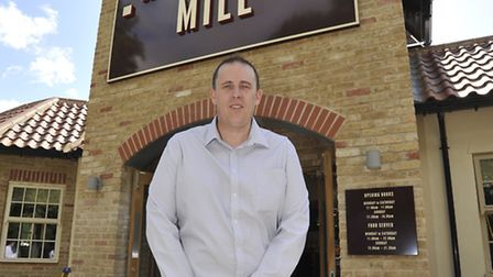 Hartford Mill, in Huntingdon, re-opens, with new Manager Paul Beales.
