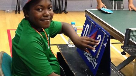 Charles, 14, represented Great Ormond Street Hospital in the British Transplant Games