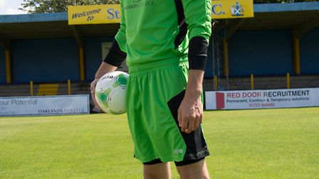 Joe Welch made two vital stops in St Albans City's 3-2 win over Staines Town. Picture: Bob Walkley