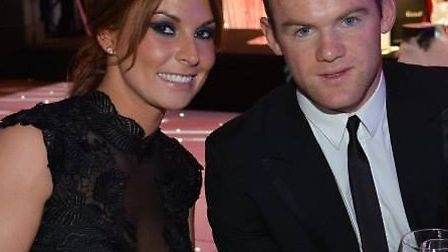 Among those at the United for Colitis charity gala dinner were Wayne and Coleen Rooney