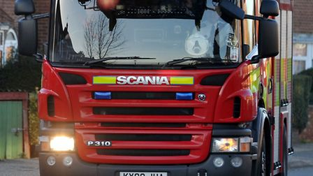 Firefighters were called to Warboys Airfield Industrial Estate in the early hours of this morning.