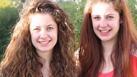 Twins Rosie and Alice Oliver from Freman College got eight got A*s and 12 A grades between them