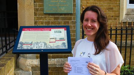 Nicole Creasey is celebrating securing her place at Cambridge University