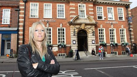 Donna Johnston suspects her drink was spiked during a visit to O'Neill's bar on Victoria Street