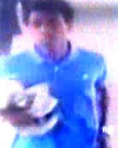 Police would like to speak to these men following a theft in St Albans