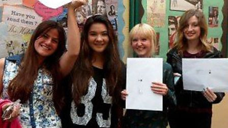 Loreto College students celebrated their A Level results