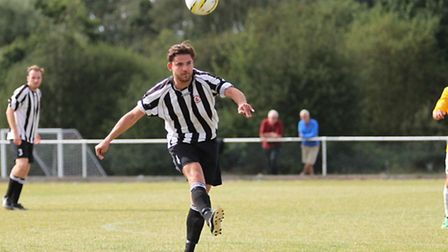 Action from Colney Heath's 2-1 loss to Kings Langley.