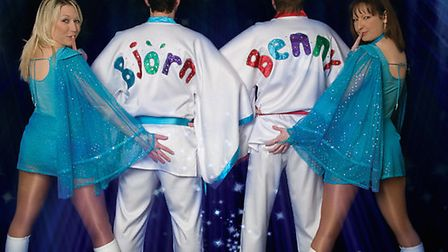 Tribute act Abba Fever are to perform at Wyboston Lakes next month.