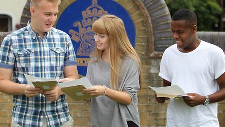 Nicholas Breakspear students open their A Level results