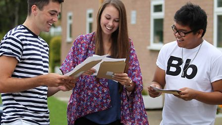 Nicholas Breakspear students are happy with their A Level results