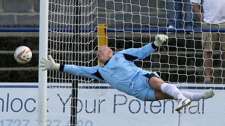 Former St Albans City shot stopper Paul Bastock is a coach at J4K. Picture by Leigh Page