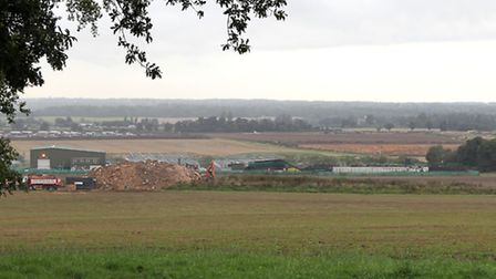 The Agrivert digester site