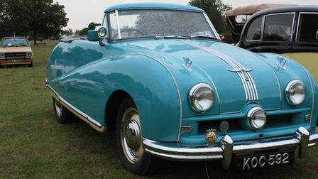 A 1953 Austin A90, owned by Shepreth resident Ben Hogan. Credit: Clive Porter.