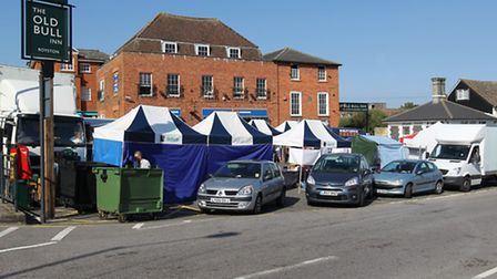 The town council is set to buy land where Royston market is located
