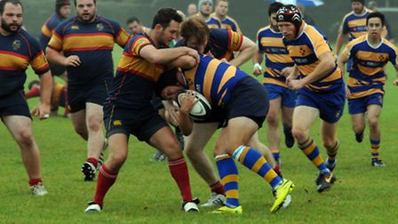 St Albans run into strong Tabard defence